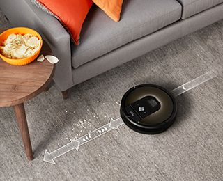 iRobot Roomba 966 - Targets dirt and debris with precision