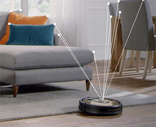 iRobot Roomba 966 Visual Localization